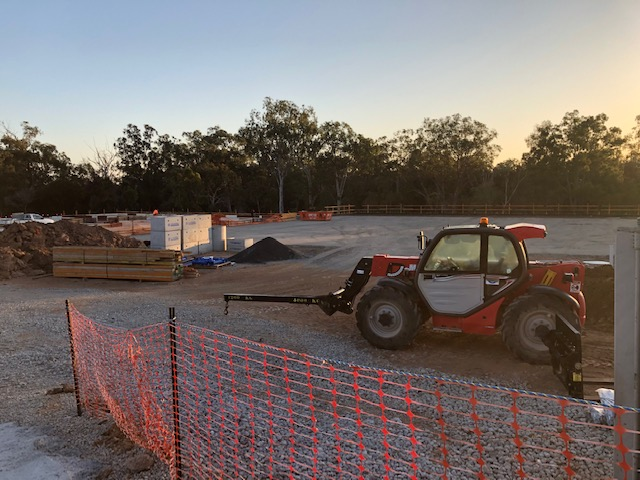 January 2020 – Building construction begins in Metroplex East